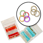 Rubber Bands for Metal Braces from Pershing Orthodontics